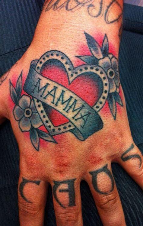 old tattoos lyrics heart in hand 38 traditional mom tattoos ideas