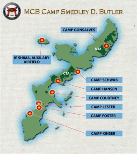 marine corps bases in the united states map marine corps bases in japan general information