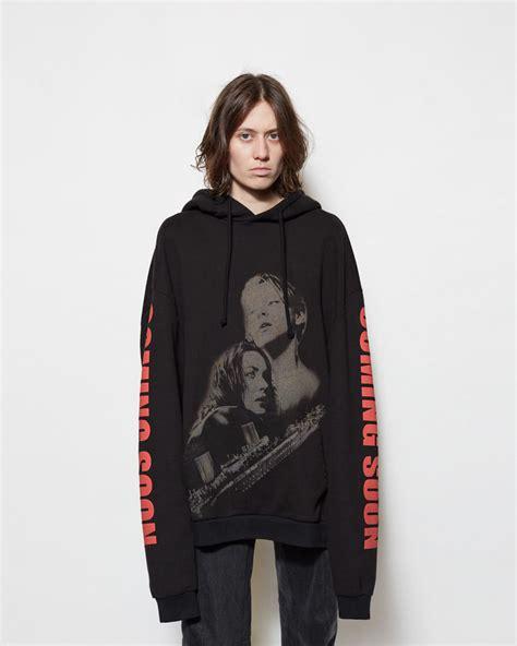Hoodie Nerf This 4 Salsabila Cloth lyst vetements hoodie in black