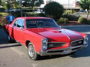 Pontiac Pictures Pontiac Gto 1967 Pictures Classic Cars