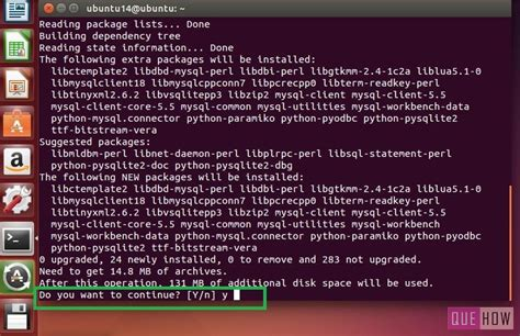 How To Install Mysql Ubuntu | how to install mysql workbench on ubuntu 6 steps with