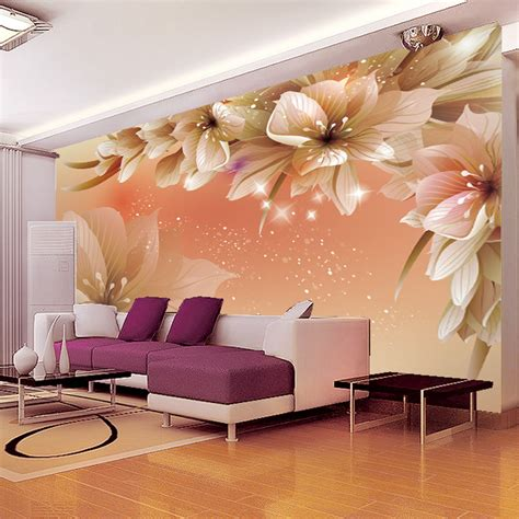 murals for bedrooms sai liya living room tv backdrop wallpaper nonwoven