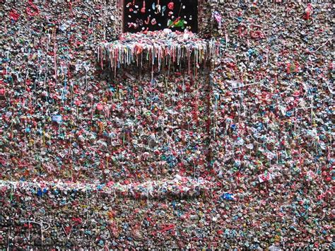 seattle gum wall is getting a scrubbing but the practice seattle s gum wall is finally getting cleaned