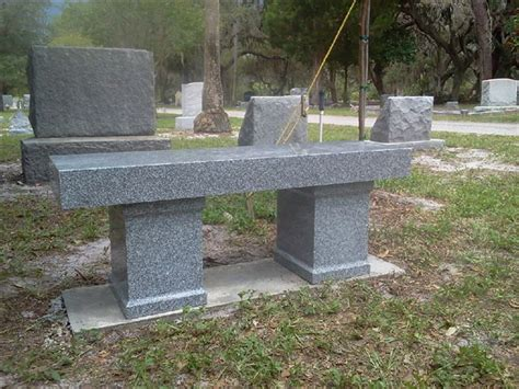 cremation memorial benches memorial and cremation benches floridamonument com