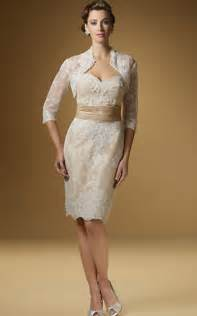 rina di montella 1441 lace mother of the bride short