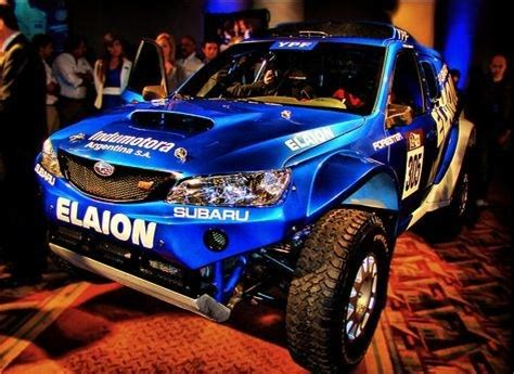 subaru dakar subaru forester will be run in 2010 dakar rally pics and