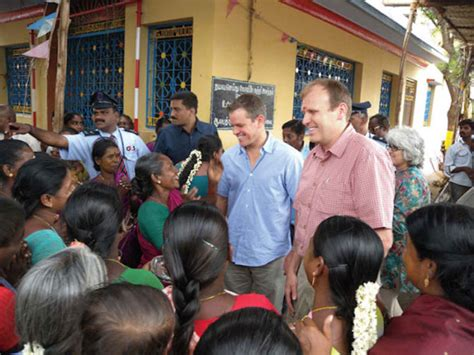 matt damon charity water 10 helping the fight to end world hunger