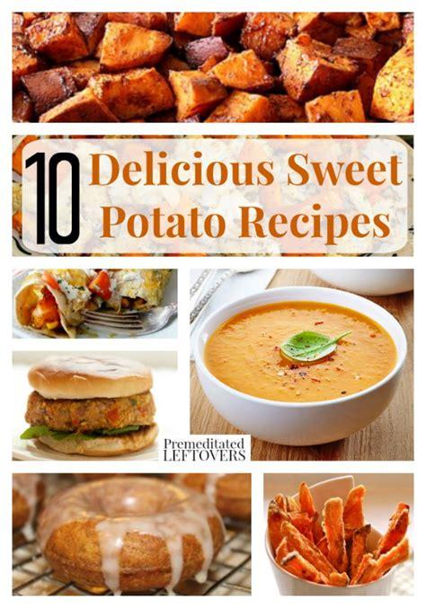 10 delicious sweet potato recipes
