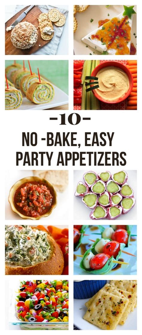 kid friendly no cook appetizers the easiest no bake appetizers