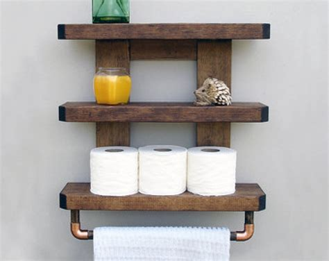 Wall Shelves Wood Shelves For Bathroom Wall Wood Shelves Wooden Bathroom Shelving