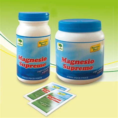 point magnesio supremo magnesio supremo 174 a cosa serve propriet 224 dosi