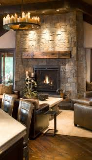 Rustic Livingroom Rustic Living Room Design Love This Space With All The