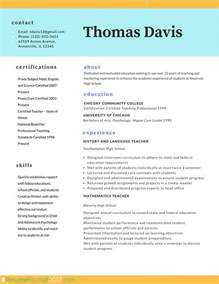 Best Resume Format For Teachers by Professional Resume Format 2017 Resume Format 2017