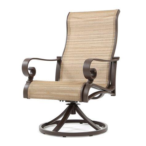 Sling Swivel Rocker Patio Chairs   Outdoor Goods