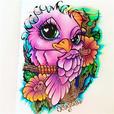 what to put on new tattoos new school bird another design i created that i d