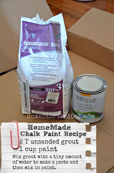 chalk paint diy recipe chalky finish paint recipe lowescreator home