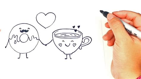 imagenes kawaii de amor para dibujar how to draw a in love characters love drawings