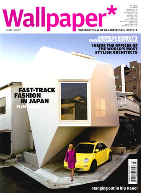 wallpaper magazine design editor inorganic home design tokyo s reflection of mineral house