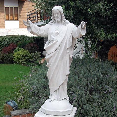 statua da giardino sacro cuore di ges 249 produzione statue da giardino