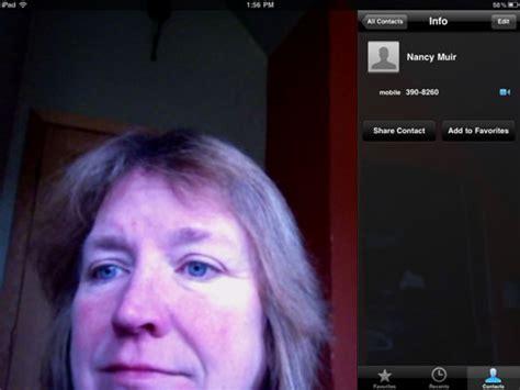 seniors   facetime call  ipad  dummies