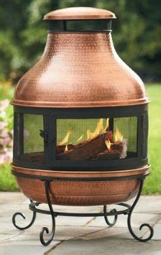 chiminea in shed hton bay cast iron patio chimenea w129c at the home
