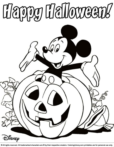 disney halloween coloring pages coloring pages