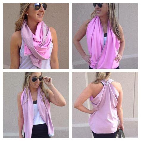 vinyasa scarf ways to wear it run swim inspire