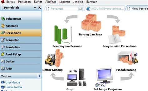 Accurate Software accurate accounting software penjualan barang paket