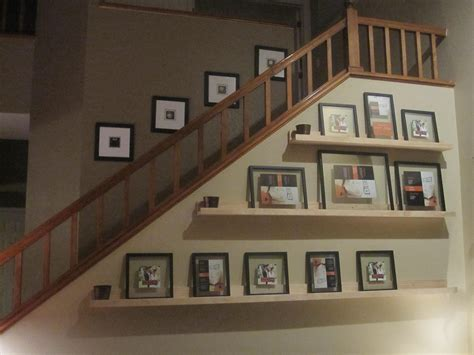 Picture Shelf by White 10 Dollar Ledge Shelves Diy Projects