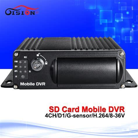 4ch sd card recording mini car dvr recorder gision 4ch sd card mobile dvr h 264 car dvr motion