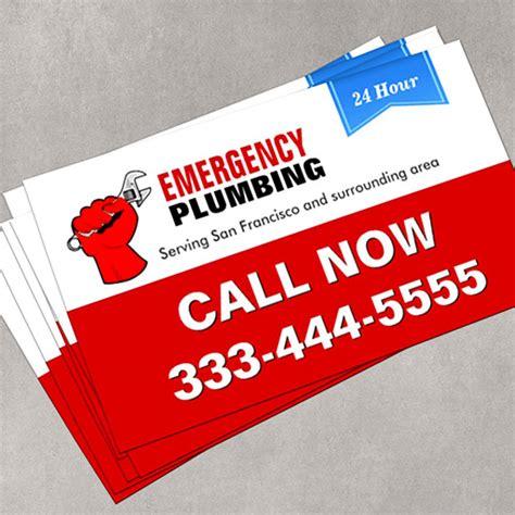 Lu Emergency Card Lite plumber local emergency plumbing services pack of