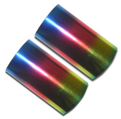 kingsley rainbow hot foil st rolls rainbow