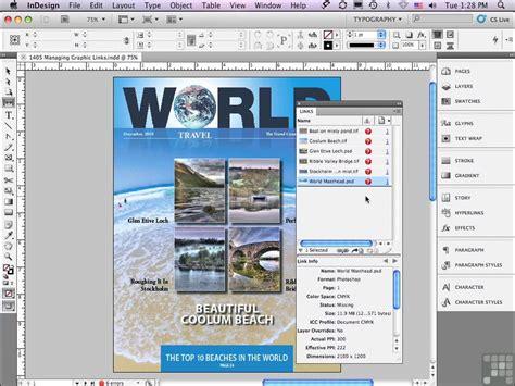 tutorial indesign cs5 learning adobe indesign cs5 5 video training avaxhome