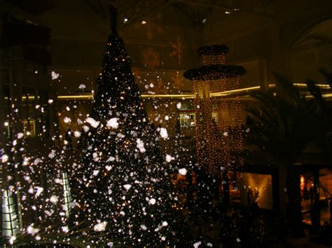 collection of christmas light snow flurries machine