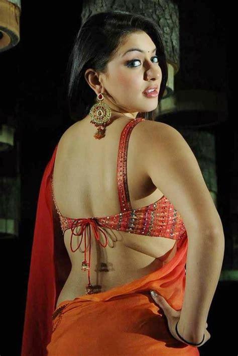 Big Blouse Wanita Jumbo hansika motwani in backless saree blouse large photos panel currey