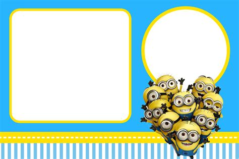 minion thank you card template free un cumplea 241 os muy minion