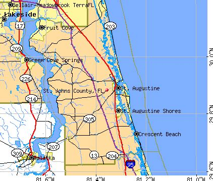 map of st johns florida st johns county florida detailed profile houses real