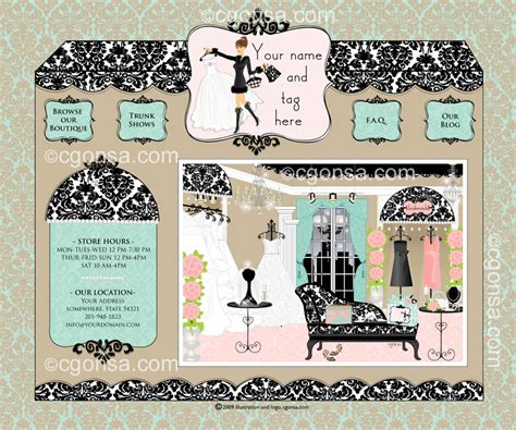 wedding layout sle for sale couture bridal boutique branding web design for