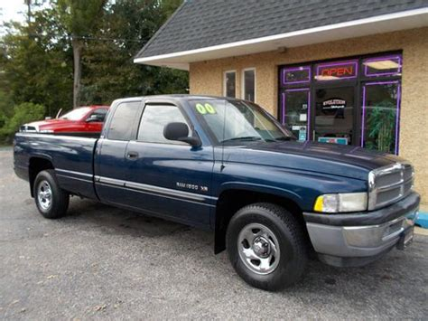how petrol cars work 2000 dodge ram 1500 club instrument cluster sell used 2000 dodge ram 1500 laramie extended cab pickup 4 door 5 2l only 47 513 miles in