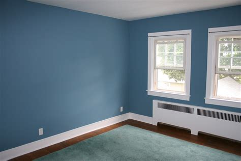 color walls my home blue accent wall