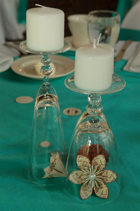 wine birthday candle wine glasses candles and paper flowers diy