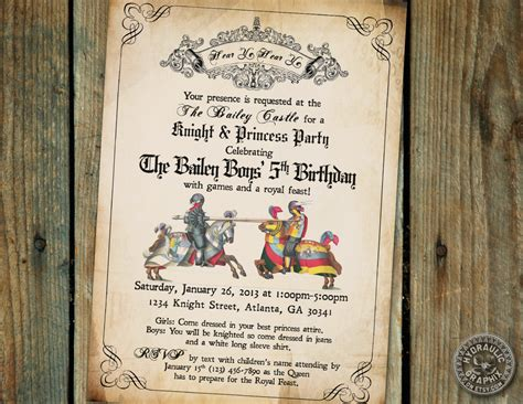 15 best medieval princess party images on pinterest medieval party invitation google search medieval party