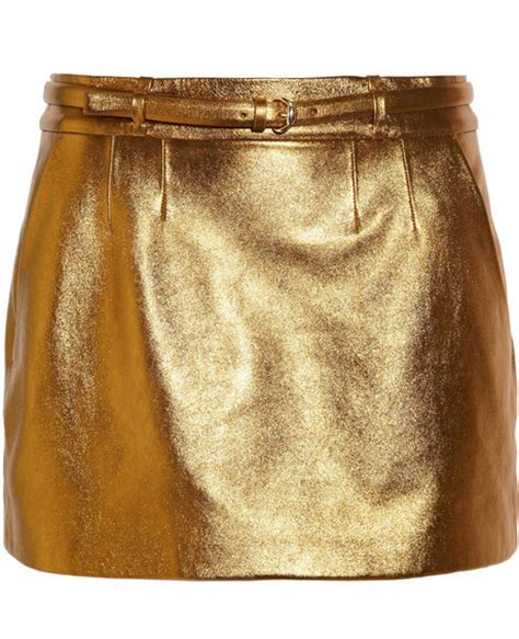 sonita gold leather skirt leather4sure leather mini skirts
