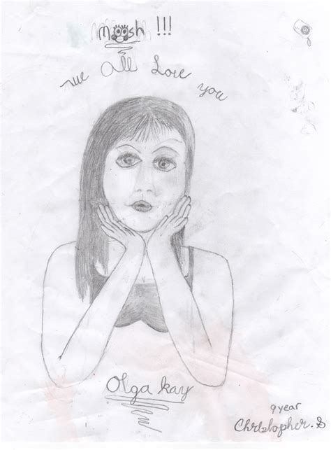 Sketches For 9 Year Olds by Olga Images Drawing By 9 Year Of Olga Hd