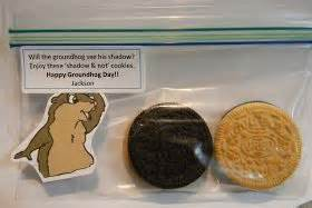 groundhog day gift ideas happy groundhog day student gift with sided oreos