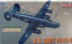 Minicraft Pb4y 1 Usn With 2 Marking Options Model Kit 1144 Scale minicraft 1 72 us navy pb4y 1
