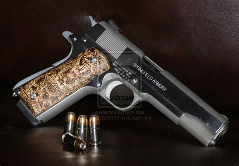 Handmade 1911 Grips - custom 1911 grips pyrography 11 by lockdwn on deviantart
