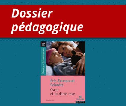 questionnaire film oscar et la dame rose dossier p 233 dagogique oscar et la dame rose du livre au