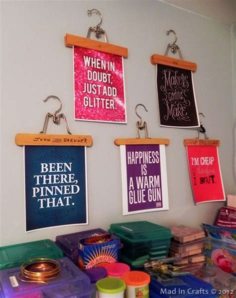 crafts for room decor 25 best ideas about craft quotes on craft
