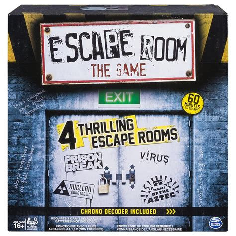 escape the bedroom game spin master spin master games escape room the game